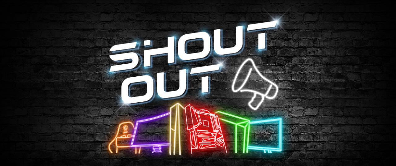 shout banner th